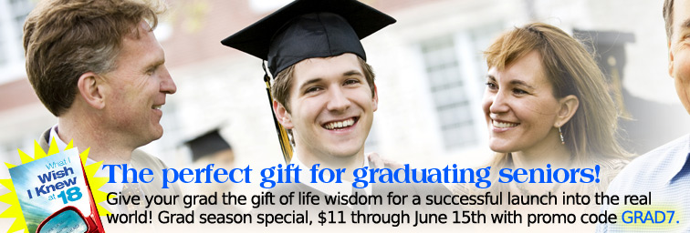 Give your grad the gift of life wisdom for a successful launch into the real 